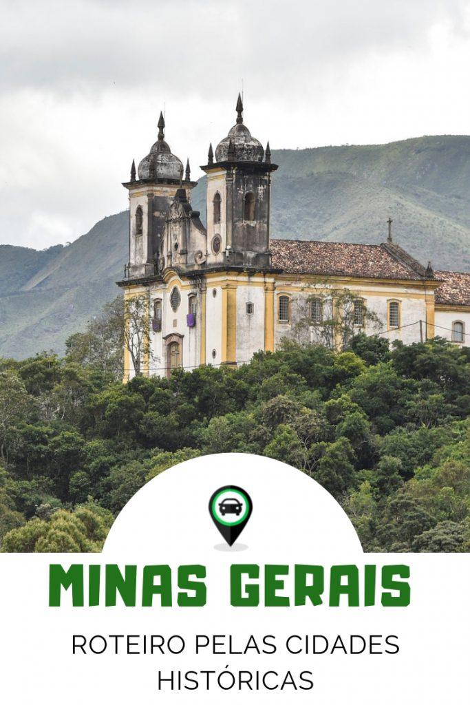 Cidades históricas de Minas - 5 dias de carro em uma viagem por Minas Gerais