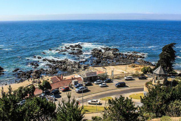 Viña del Mar Cidades perto de Santiago do Chile